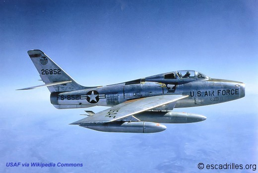 F-84F Thunderstreak USAF