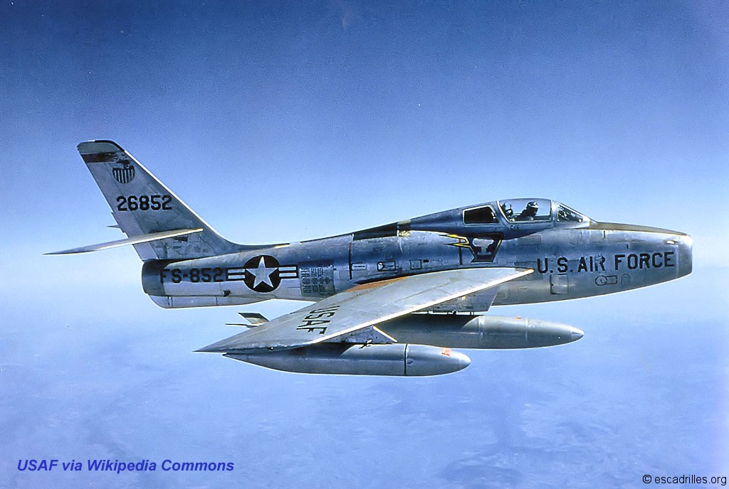 F-84F Thunderstreak and RF-84F Thunderflash (Warpaint No 100)