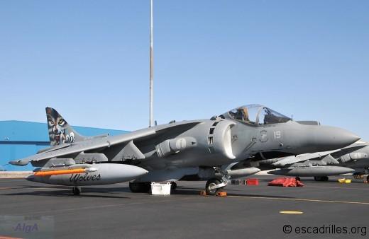 Harrier de la Marina italienne