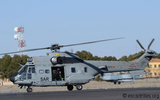 Super Puma 803-13 de la Force Aérienne Espagnole