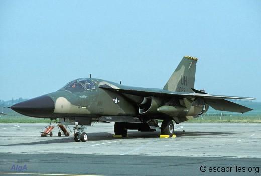 F-111E du 20 ème TFW