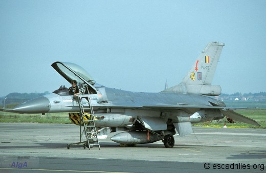 F-16A 1986 FA72