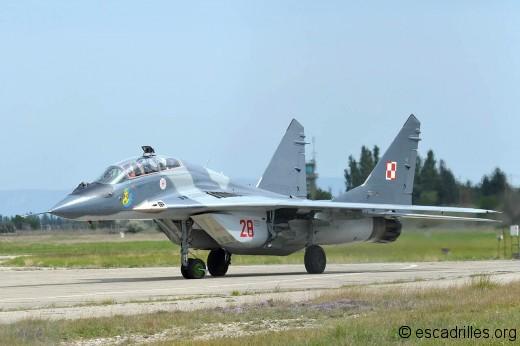 MiG-29 U à Orange