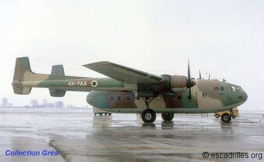 Noratlas 4X-FAA Israel
