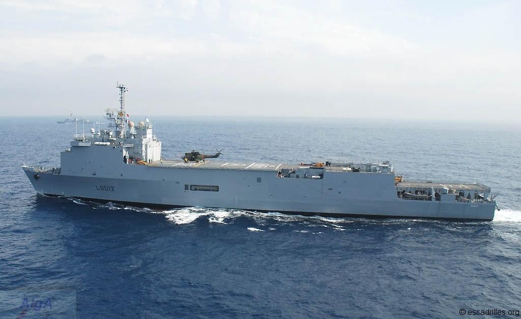 La Marina de Brasil a abordo de su nuevo buque TCD Siroco