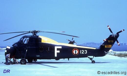 HSS 123 de la 31F en 1973
