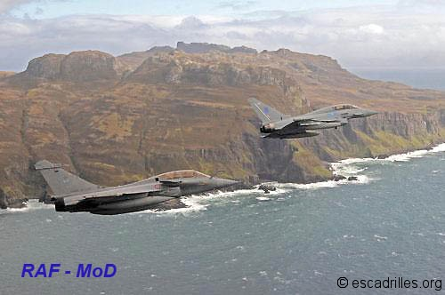 Rafale et Typhoon 2