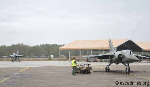Les trois types de F-1 ensemble moteur tournant, pour la dernière fois