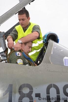 """Brêlé par un mécanicien de piste, """"Math"""" se concentre pour son dernier vol F-1"""