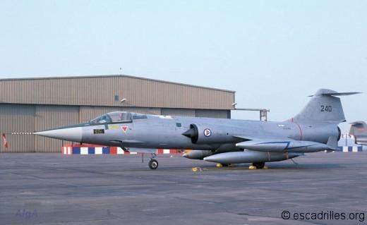 F-104G 1978 RNAF 240