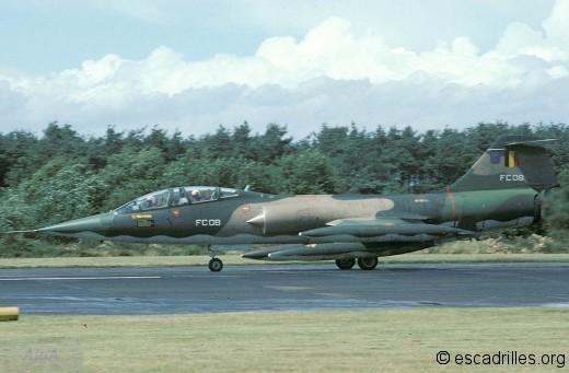 TF-104G du 10è Wing en 1978