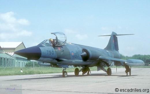 CF-104G CAF-750