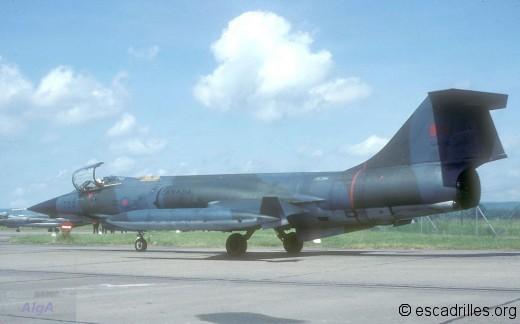 F-104G 1981 CAF-750