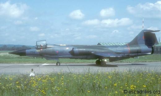 F-104G 1981 CAF756