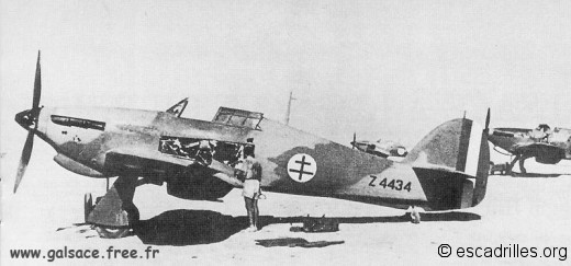 Hurricane Alsace 1942