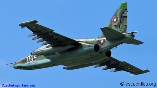 Su-25 2012 Bulgarie