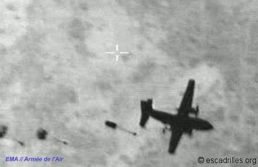 C160 parachutes