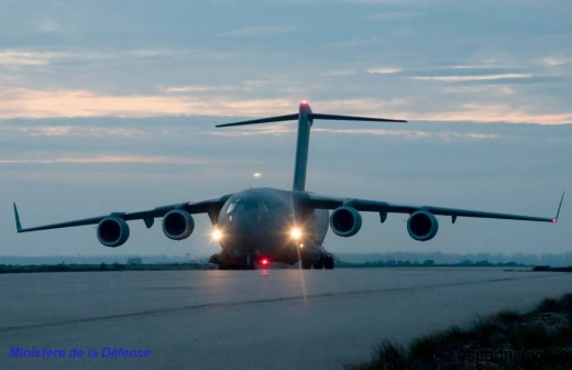C-17 Canadien sur la base d'Istres