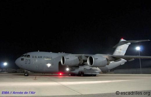 C-17 USAF Serval