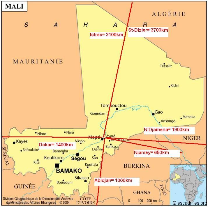 L'actu de la MARINE NATIONALE, de notre défense et de nos alliés /3 - Page 2 Carte-du-Mali