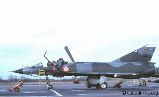 Mirage IIIE 1978 3I 534
