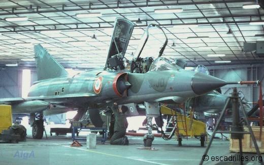 Mirage IIIE 1978 3JD 515