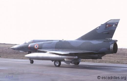 Mirage IIIE 1978 3-JK 497