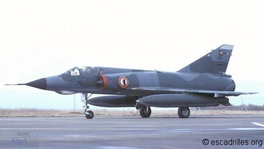 Mirage IIIE 1978 3-JO 508