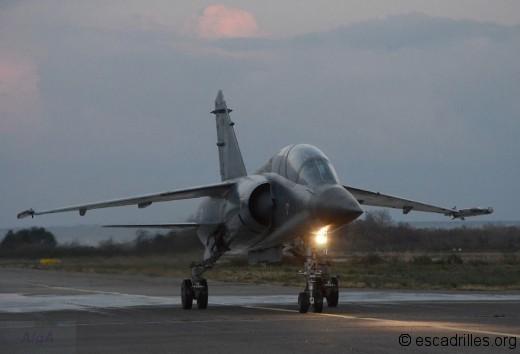 Le vol de nuit était programmé au profit des pilotes stagiaires