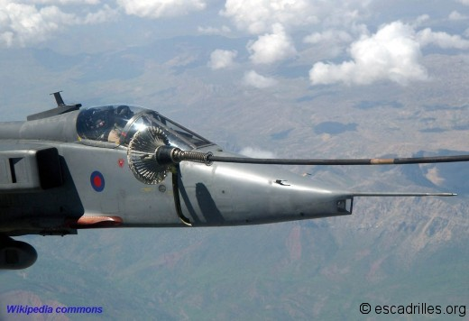 Jaguar RAF ravito