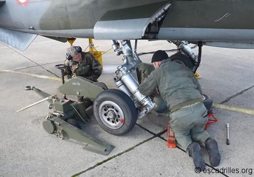 Les F-1CR ne posent aucun problème de maintenance