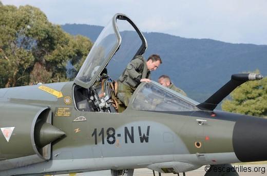 """Le F-1CR, un """"vieil"""" avion qui a encore belle apparence"""