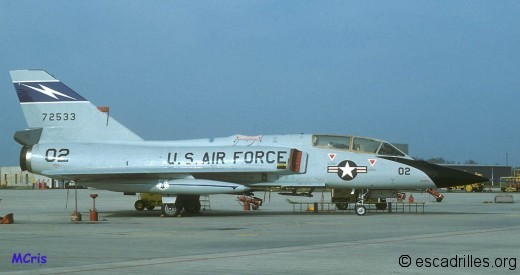 F-106B de l'Air National Guard de Floride