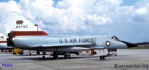F-106A de la California ANG, première décoration