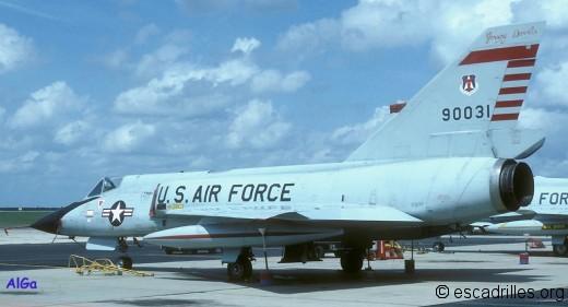 F-106A du FIS en 1978