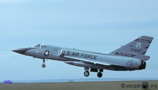 F-106A du 186è FIS en 1980