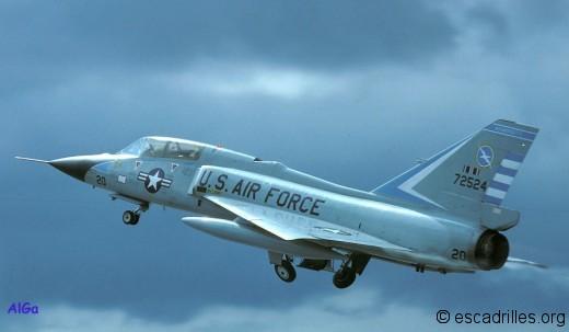 F-106B du 101è FIS en 1983