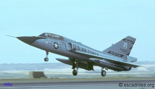 Le développement du F-106 cessa avec l'arrivée en ligne des F-4C et D