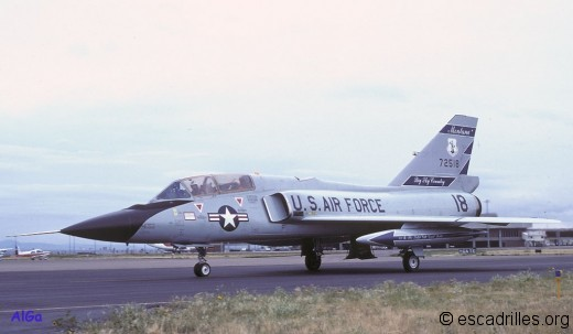 "F-106B du ""Big Sky Country"", Montana ANG"