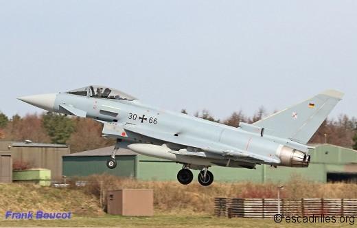 Trois Geschwader sur Eurofighter, dans la Luftwaffe