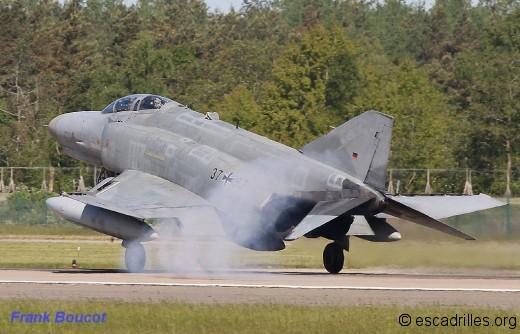 Jusqu'à juin 2013, la QRA du nord de l'Allemagne incombait aux F-4F