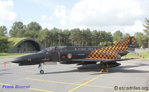 Les derniers F-4F à voler, en juillet, furent ceux de Manching