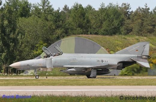 """En perdant le Phantom, le JG 71 laisse quelques plumes puisqu'il devient un """"Gruppe"""""""