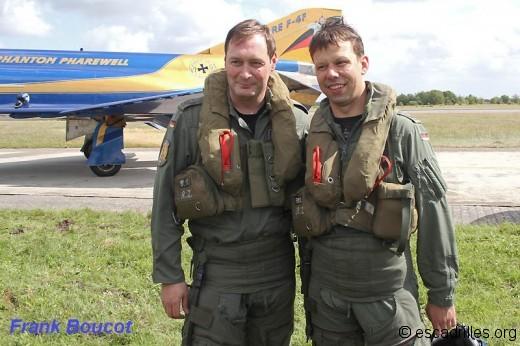Rien que des chibanis, sur F-4F, à l'image des Otl Glanze et Otl Radmann