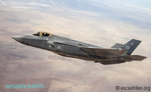 Le F-35A, ou Joint Strike Fighter version Air Force