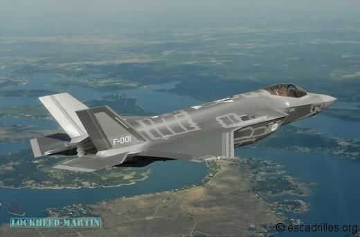 """La Köninglijke Luchtmacht pourra """"entrer en premier"""""""