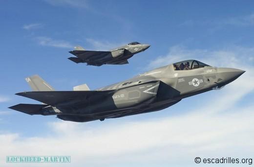 Faire voler une patrouille de F-35B exigera beaucoup de maintenance