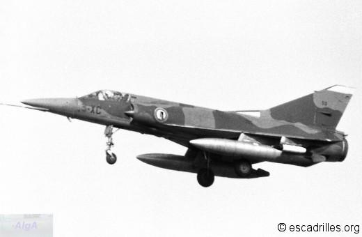"""Attrapé au vol à Ochey en 1976, ce """"VF"""" du 3/3"""