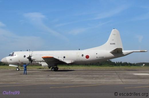 Pas moins de 7 Kokutai de P-3J au Japon