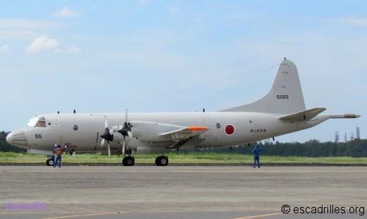 Un des P-3 du 203è Kokutai de Shimofusa